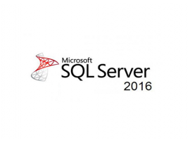 Microsoft SQL Server 2016 Standard License with installation DVD English (SFT-MS-SQL16STD-EN0)